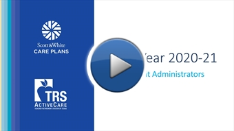 2020-2021 TRS Benefits Video